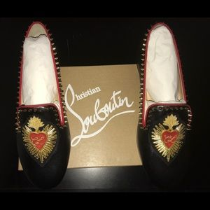 Christian Louboutin Mi Corazon Smoking Flat